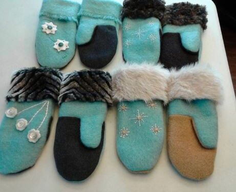 Brenda's upcycled creations